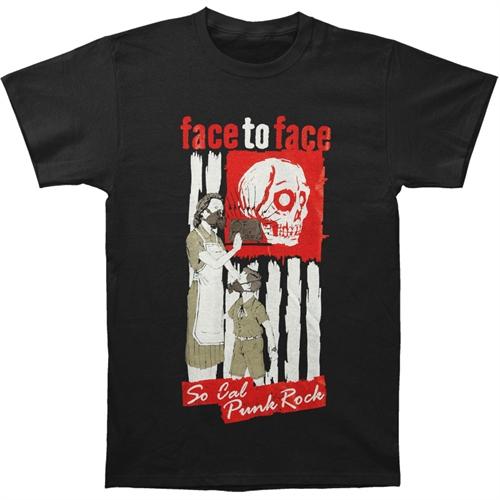 Face To Face - Gasmask, T-Shirt