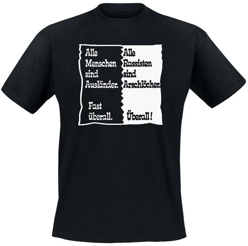 Alle Menschen sind Ausländer - T-Shirt