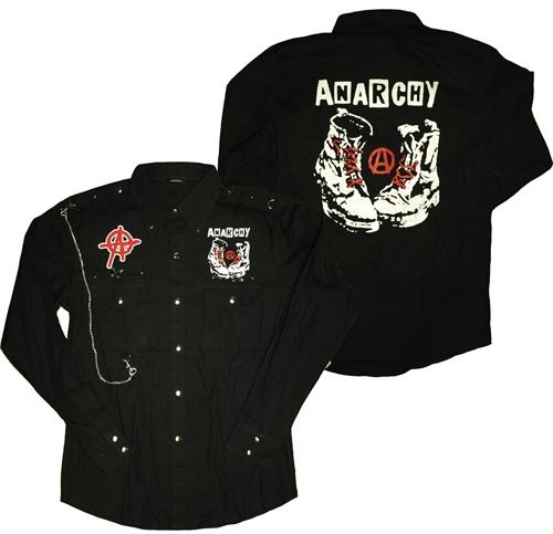 Iancia - Anarchy Boots, Hemd