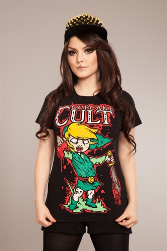 Cupcake Cult - Legend Of Zombie, Girl Shirt
