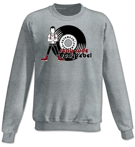 Stay rude stay rebel - , Sweatshirt