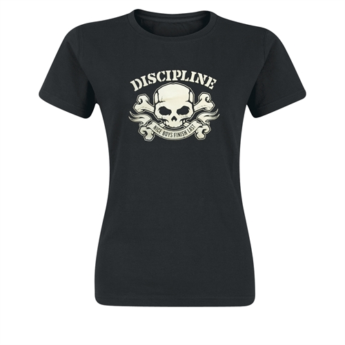 Discipline - Nice Boys Finished Last, Girl-Shirt