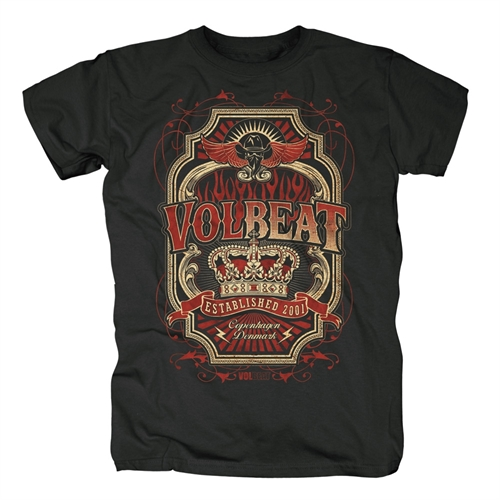 Volbeat - Flourish Crown, T-Shirt