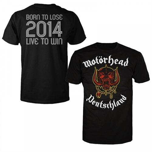Motörhead - World Cup Germany, T-Shirt