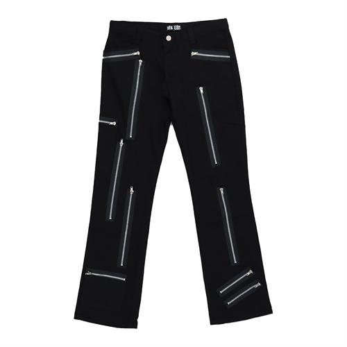 Nix Gut - Black Zip, Frauenhose