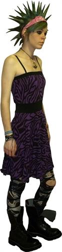 Nix Gut - Zebra, Kleid