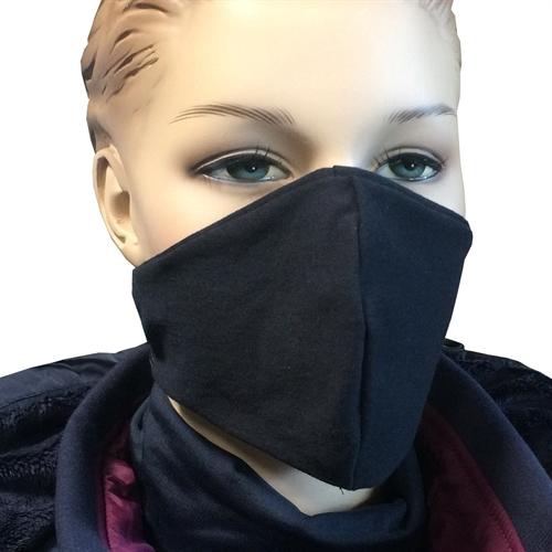 Gesichtsmaske - schwarz