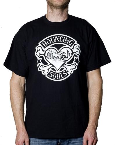 Bouncing Souls - Rocker Heart, T-Shirt