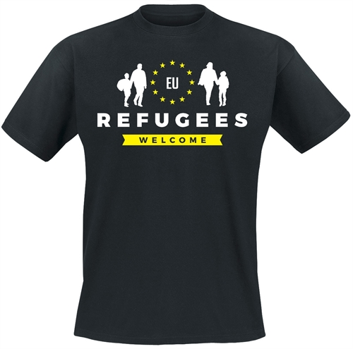 Refugees Welcome - T-Shirt