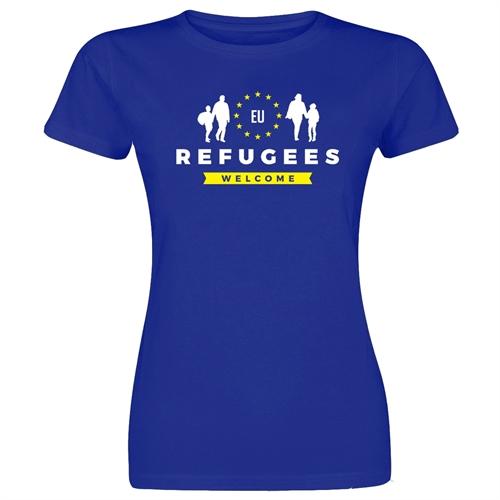 Refugees Welcome - Girl-Shirt