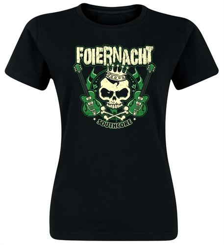 Foiernacht - Guitar, Girl-Shirt