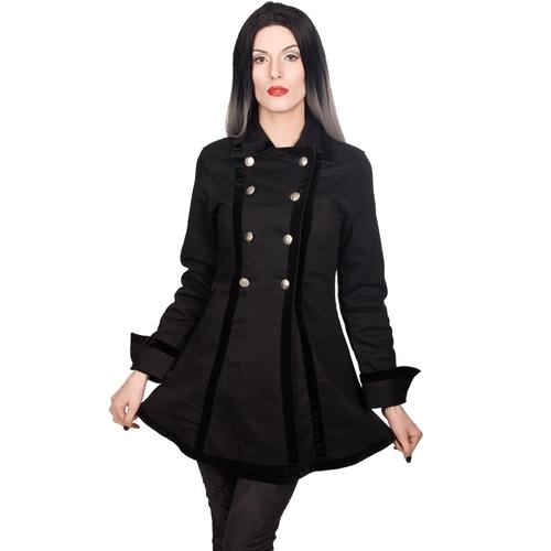 Black Pistol - Ladies Pirate Jacket Denim, Jacke