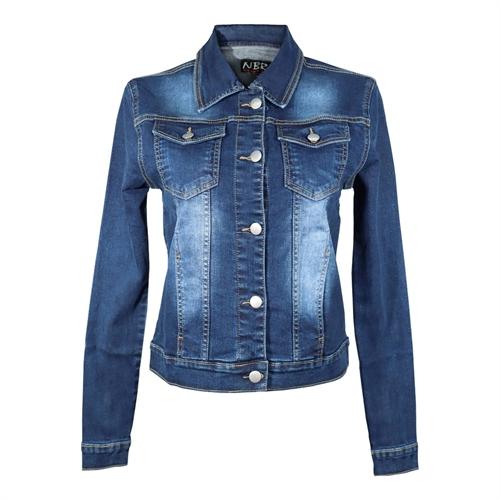 No Brands Required - Frauen Jeans-Jacke