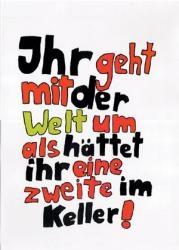 Welt - Poster