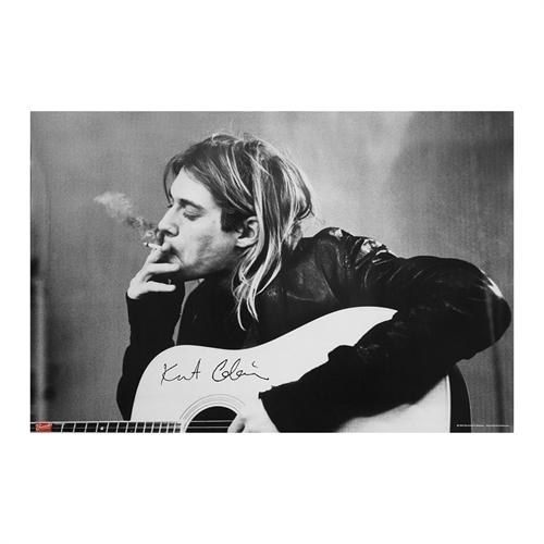 Nirvana - Kurt Cobain Smoking, Poster