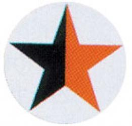 Stern - Aufkleber