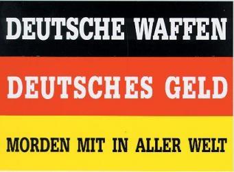 Deutsche Waffen - Aufkleber