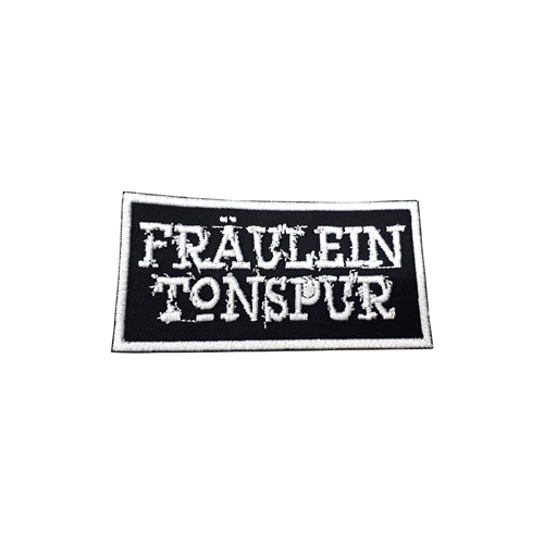 Fräulein Tonspur - Logo, Aufnäher