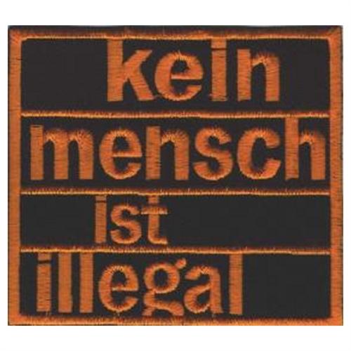 Illegal - Aufnäher