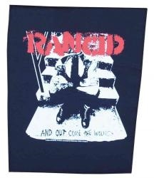 Rancid - And Out Come The Wolves, Rückenaufnäher