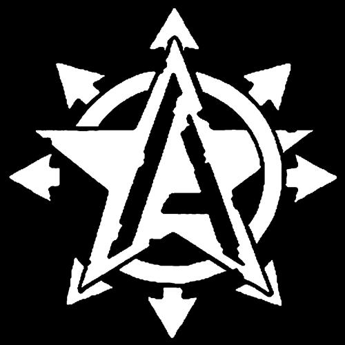 Anarcho Stern - Aufnäher
