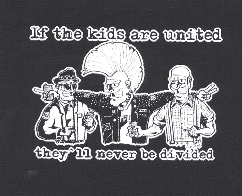 If the kids are united - Aufnäher