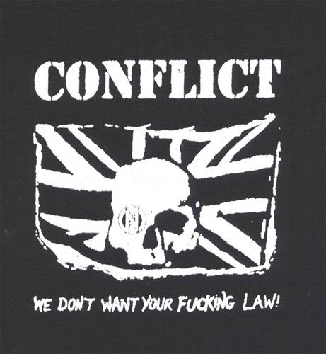 Conflict - Aufnäher