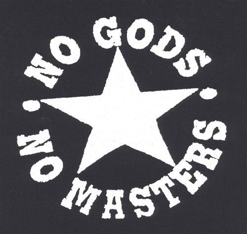 No Gods - No Masters, Aufnäher