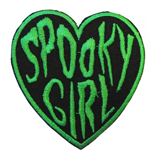 Spooky Girl - Aufnäher