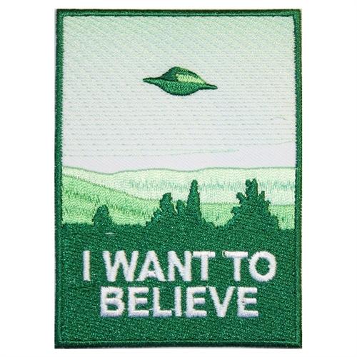 I want to believe - Aufnäher