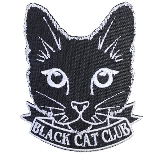 Black cat club - Aufnäher