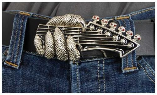 Guitar - Gürtelschnalle