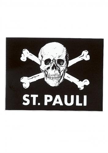 St. Pauli - Totenkopf, Aufkleber