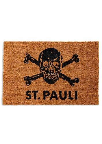 St. Pauli - Totenkopf, Fußmatte Kokos