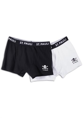 St. Pauli - Totenkopf, 2er Set Boxershort