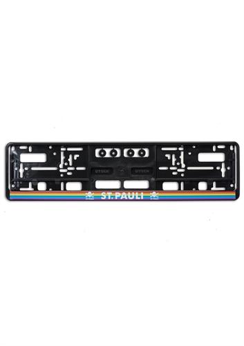 St. Pauli - Regenbogen, Nummernschildhalter