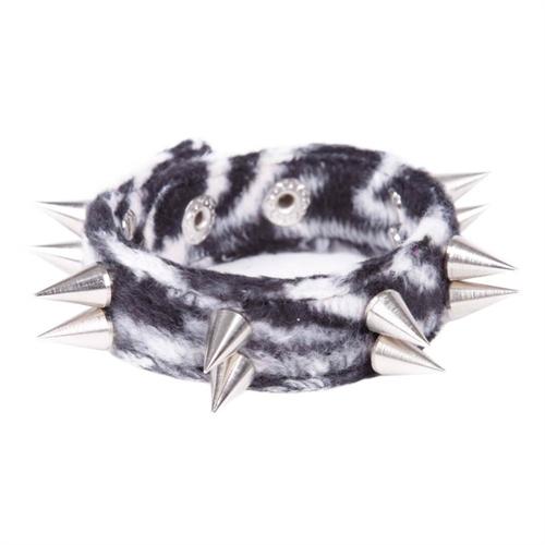 Spitznietenarmband - Zebra