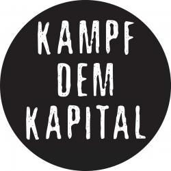 Kampf dem Kapital - Button