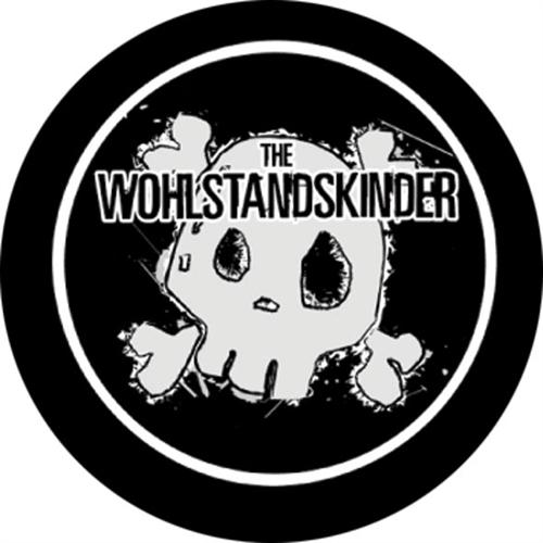 Wohlstandskinder - Totenkopf - Button