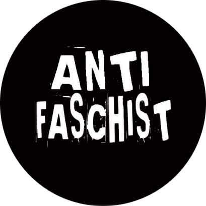 Antifaschist - Button