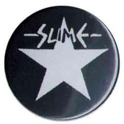 Slime - Stern/Schriftzug, Button