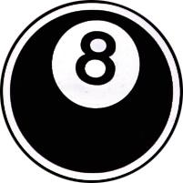 8-Ball, Button