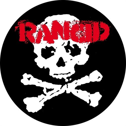 Rancid - Skull/Bones 2, Button