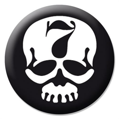 7er Jungs - Skull, Button