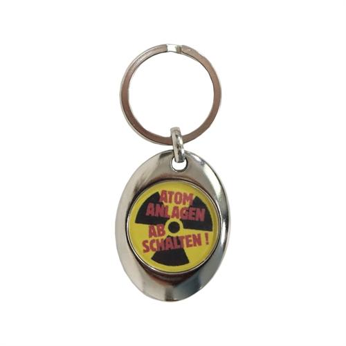 Atomanlagen abschalten - Schlüsselanhänger
