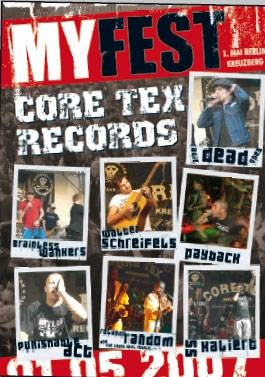 Myfest - Core Tex Records DVD