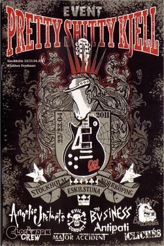 Pretty Shitty Kjell 2011 DVD