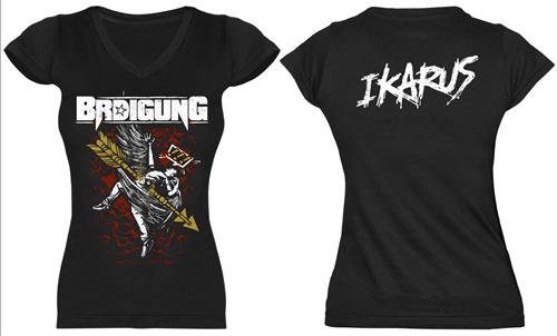 Brdigung - Ikarus, Girl-Shirt