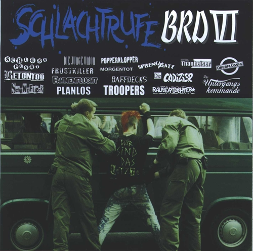 Schlachtrufe BRD VI - CD