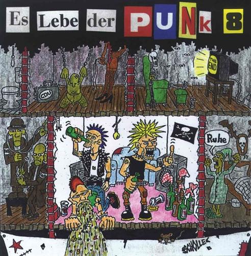 Es lebe der Punk - Vol.8, CD